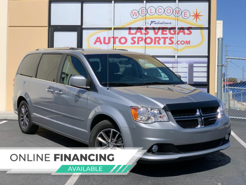 2017 Dodge Grand Caravan for sale at Las Vegas Auto Sports in Las Vegas NV