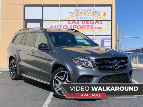 2017 Mercedes-Benz GLS for sale at Las Vegas Auto Sports in Las Vegas NV