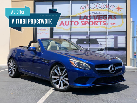 2017 Mercedes-Benz SLC for sale at Las Vegas Auto Sports in Las Vegas NV