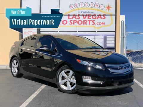2014 Chevrolet Volt for sale at Las Vegas Auto Sports in Las Vegas NV