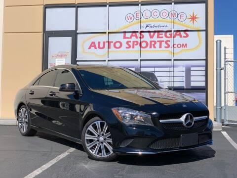 2018 Mercedes-Benz CLA for sale at Las Vegas Auto Sports in Las Vegas NV