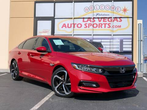 2018 Honda Accord for sale at Las Vegas Auto Sports in Las Vegas NV
