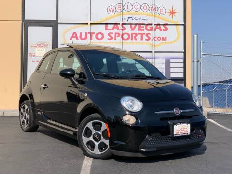 2013 FIAT 500e for sale at Las Vegas Auto Sports in Las Vegas NV