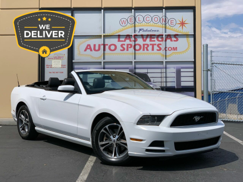 2014 Ford Mustang for sale at Las Vegas Auto Sports in Las Vegas NV