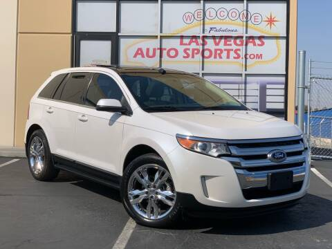 2013 Ford Edge for sale at Las Vegas Auto Sports in Las Vegas NV