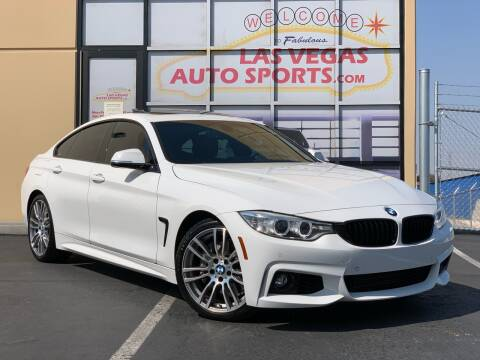 2016 BMW 4 Series for sale at Las Vegas Auto Sports in Las Vegas NV