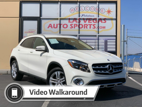 2018 Mercedes-Benz GLA for sale at Las Vegas Auto Sports in Las Vegas NV