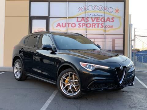 2018 Alfa Romeo Stelvio for sale at Las Vegas Auto Sports in Las Vegas NV