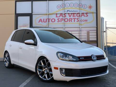 2013 Volkswagen GTI for sale at Las Vegas Auto Sports in Las Vegas NV