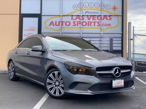 2017 Mercedes-Benz CLA for sale at Las Vegas Auto Sports in Las Vegas NV
