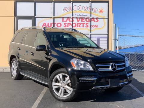2012 Mercedes-Benz GL-Class for sale at Las Vegas Auto Sports in Las Vegas NV