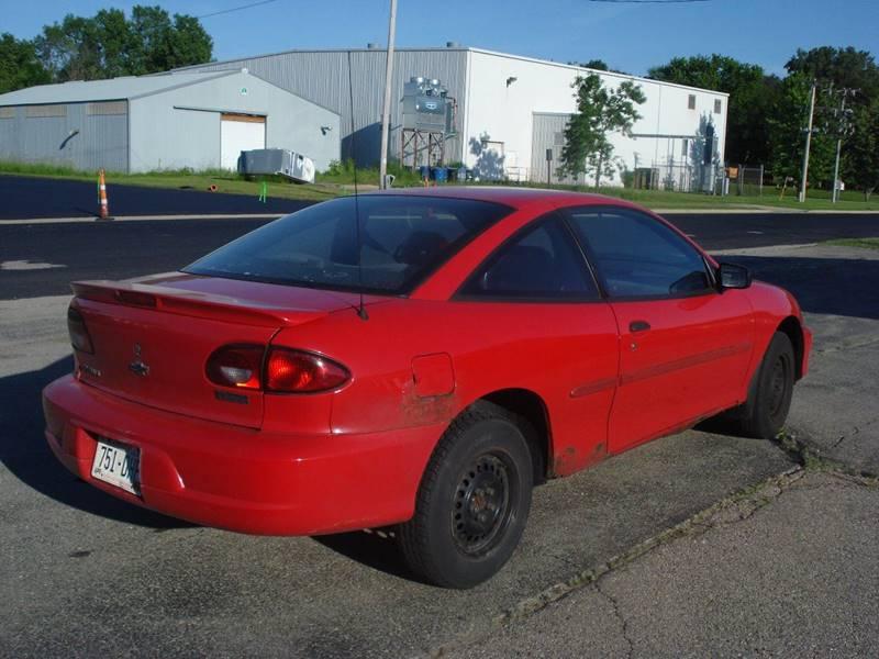 2002 Chevrolet Cavalier for sale at Cambridge Automotive Repair in Cambridge WI