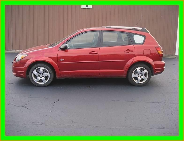 2004 Pontiac Vibe for sale at Cambridge Automotive Repair in Cambridge WI