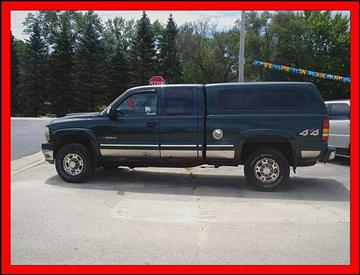 2002 Chevrolet Silverado 2500HD for sale at Cambridge Automotive Repair in Cambridge WI