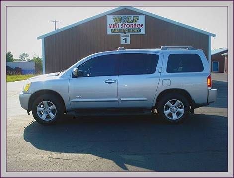 2006 Nissan Armada for sale at Cambridge Automotive Repair in Cambridge WI