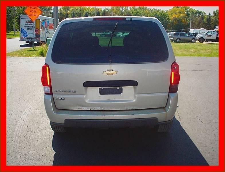 2008 Chevrolet Uplander for sale at Cambridge Automotive Repair in Cambridge WI