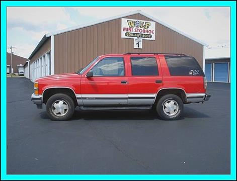 1996 Chevrolet Tahoe for sale in Cambridge, WI