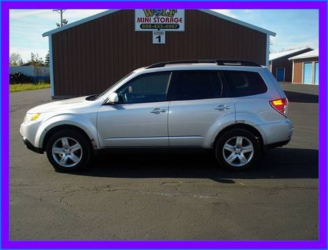 2009 Subaru Forester for sale at Cambridge Automotive Repair in Cambridge WI