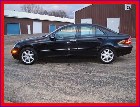 2004 Mercedes-Benz C-Class for sale at Cambridge Automotive Repair in Cambridge WI