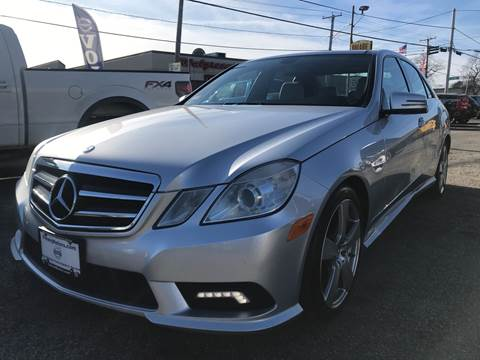 2011 Mercedes-Benz E-Class for sale at Volare Motors in Cranston RI