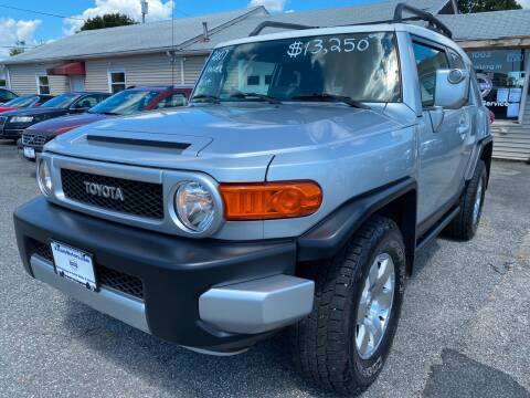 2007 Toyota FJ Cruiser for sale at Volare Motors in Cranston RI