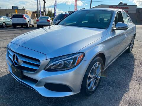2017 Mercedes-Benz C-Class for sale at Volare Motors in Cranston RI