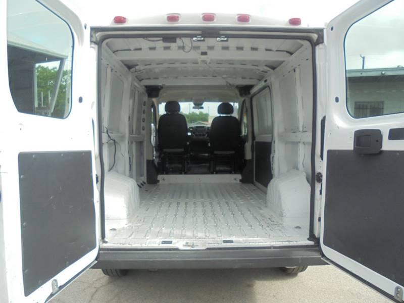 2014 RAM ProMaster Cargo 1500 136 WB 3dr Low Roof Cargo Van - San Antonio TX