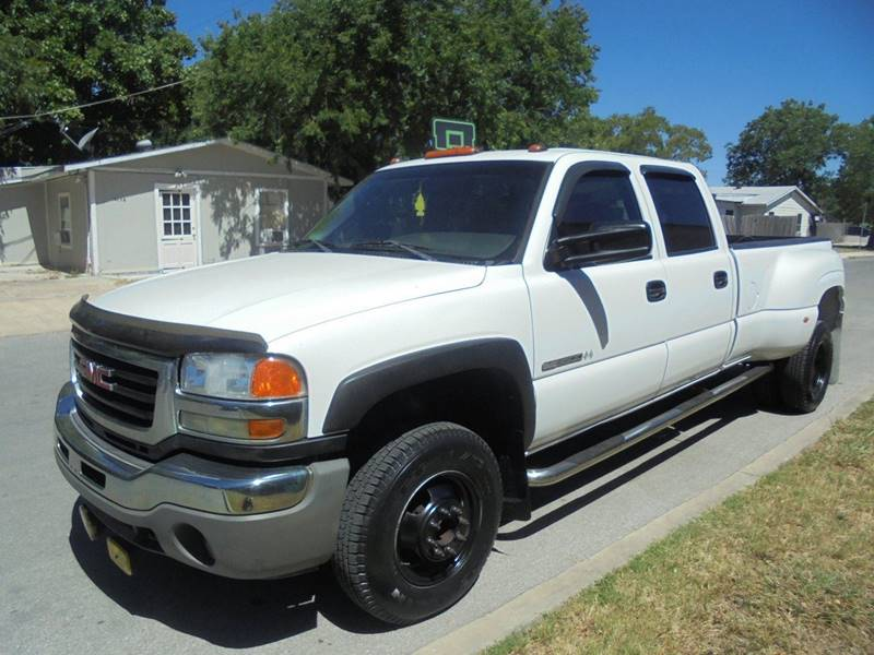 2006 GMC Sierra 3500 Work Truck 4dr Crew Cab LB DRW - San Antonio TX
