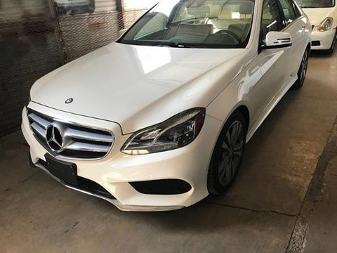 2014 Mercedes-Benz E-Class for sale at Motorcars Group Management - CATALANI MOTOR CENTER in San Antonio TX