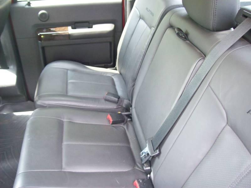 2014 Ford F-350 Super Duty 4x4 Platinum 4dr Crew Cab 8 ft. LB SRW Pickup - San Antonio TX