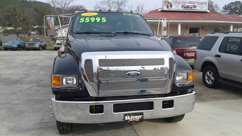 2006 Ford FORD F650 for sale in Oxford, AL