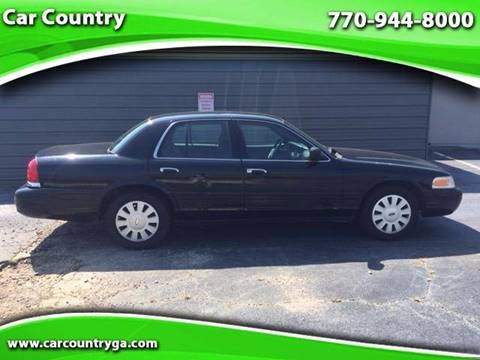 2007 Ford Crown Victoria for sale in Mableton GA