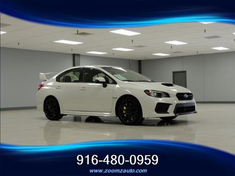 2018 Subaru WRX for sale in Sacramento, CA