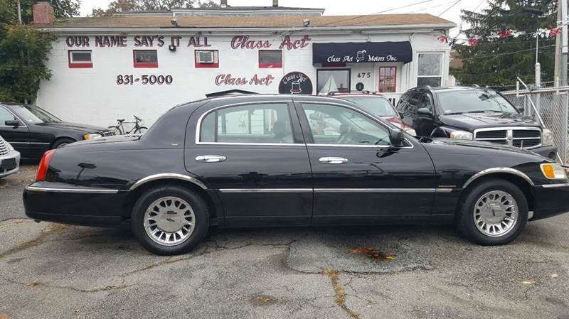 2001 Lincoln Town Car Cartier In Providence Ri Class Act Motors Inc