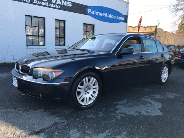 2003 bmw 7 series 745li 4dr sedan in troy ny palmer auto. Black Bedroom Furniture Sets. Home Design Ideas