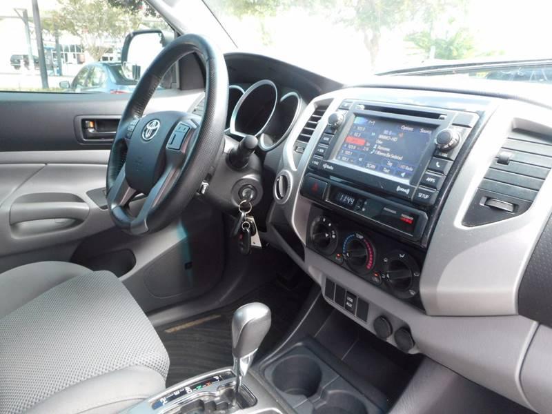 2012 Toyota Tacoma 4x4 V6 4dr Double Cab 5.0 ft SB 5A - Oakland FL