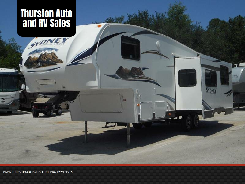 2011 Keystone Sydney Th Wheel Oakland Fl