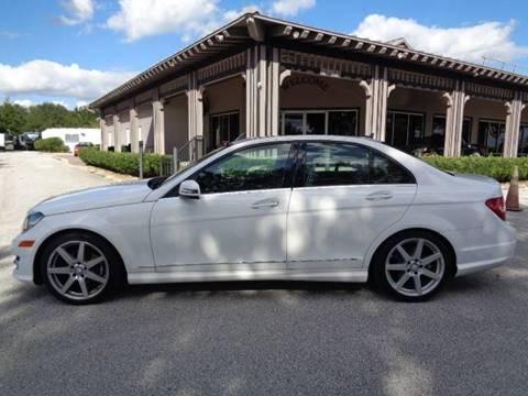 2014 Mercedes-Benz C-Class for sale in Oakland, FL