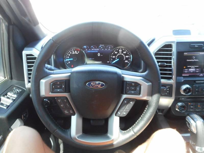 2015 Ford F-150 4x4 Platinum 4dr SuperCrew 5.5 ft. SB - Oakland FL