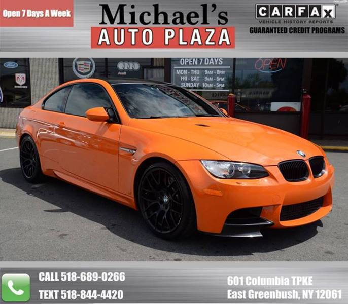 2013 BMW M3 for sale at Michaels Auto Plaza in East Greenbush NY