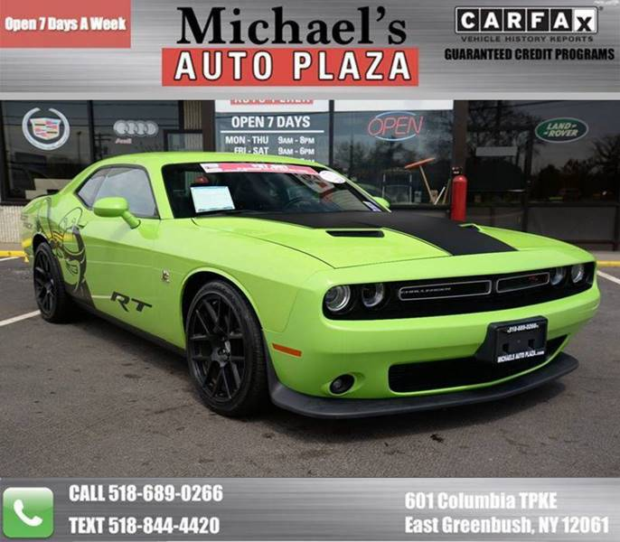 2015 Dodge Challenger for sale at Michaels Auto Plaza in East Greenbush NY