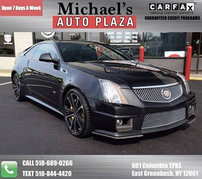 2012 Cadillac CTS-V for sale at Michaels Auto Plaza in East Greenbush NY