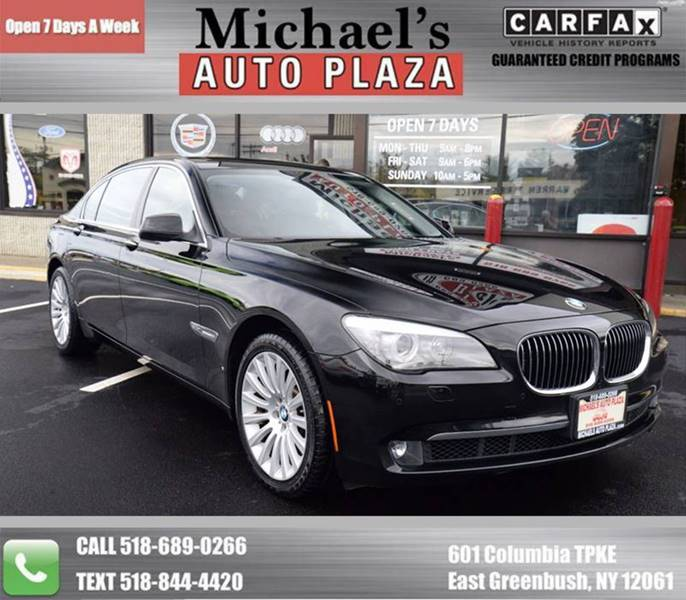 2012 BMW 7 Series for sale at Michaels Auto Plaza in East Greenbush NY
