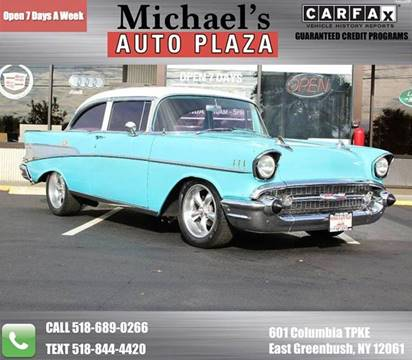 1957 Chevrolet Bel Air for sale at Michaels Auto Plaza in East Greenbush NY