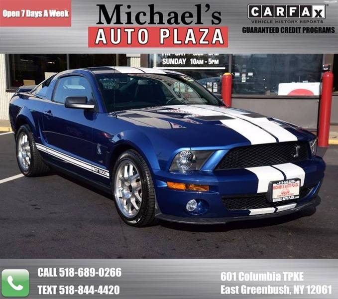 2007 Ford Shelby GT500 for sale at Michaels Auto Plaza in East Greenbush NY