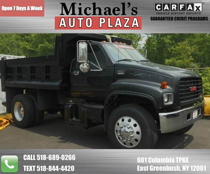 2002 GMC C7500 DUMP TRUCK black come see this one owner clean carfax 2002 gmc c7500 regular cab d