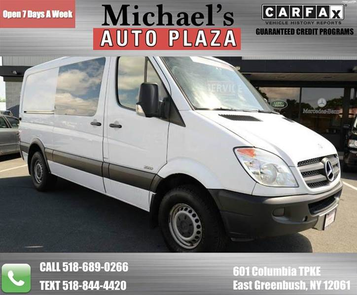 2011 MERCEDES-BENZ SPRINTER CARGO 2500 144 WB 3DR CARGO VAN white ready for work hard to find on