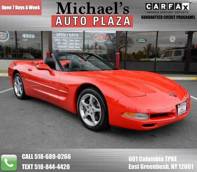 2000 CHEVROLET CORVETTE 2DR CONVERTIBLE-GORGEOUS-LOW MIL red take a look at this 2000 chevrolet c