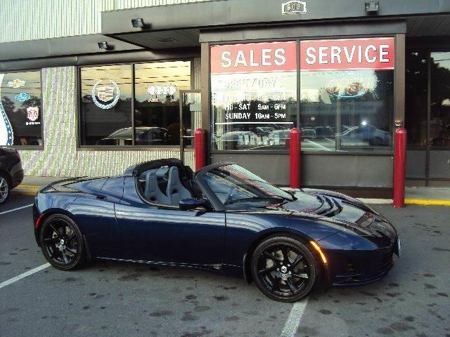 2011 Tesla Tesla Roadster for sale at Michaels Auto Plaza in East Greenbush NY