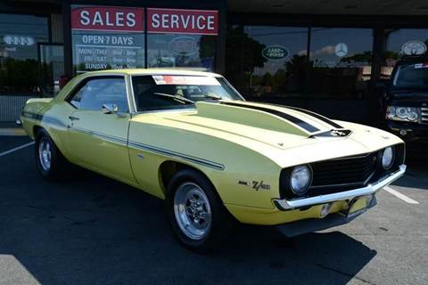 1969 Chevrolet Camaro for sale at Michaels Auto Plaza in East Greenbush NY